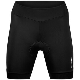 Cube Blackline Short de cyclisme Femme, black